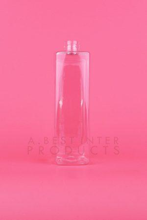 Tall Square Plastic Bottle 350 ml