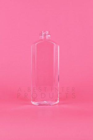 Transparent Cosmetic Bottle 230 ml