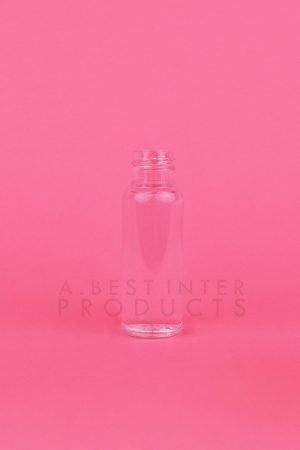 Transparent Travel kit PET Bottle 20 ml