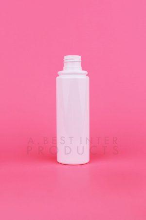 White Oval PET Bottle 100 ml, White Sprayer PET Bottle 100 ml