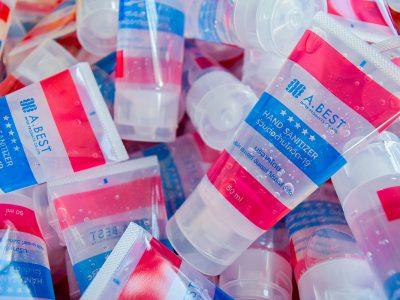หลอดโฟมบริษัทผู้ผลิตบรรจุภัณฑ์เครื่องสำอาง สีใส ลายธรงชาติไทย